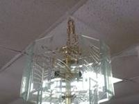 Unique Glass Metal Chandelier $45 Chabad Thrift Store