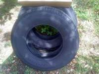 two new takeoff tires 110.00 for the pair 235/75/16
