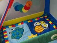 Graco bug play pen. Good condition no stains or tares.