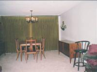 A complete United Furniture Corp. dining room set