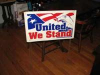 "American ""United We Stand"" Yard sign $5 each Great for"