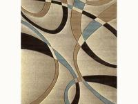 The contours collection la-chic beige 5 ft. 3 in. x 7