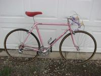 I have a Univega Racing Bike, pink in color and in