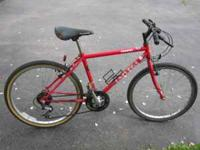 Univega Country Max mountain bike. Red color. Frame
