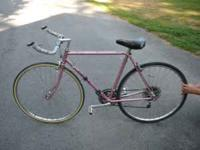 Mid 80's quality road bike. Triple chain ring, bullhorn