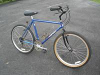 Good condition Tange cromoly steel bike. Would make a