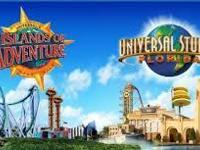 Universal 2 day base ticket with the 3rd day free, one