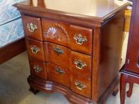 For sale we have an excellent mahogany 5 piece queen