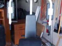 Powerhouse multi-station exercising Gym for Bench
