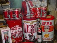 SEE THESE VINTAGE ALABAMA FOOTBALL COLLECTIBLES AND