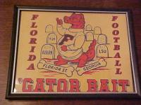 University of Florida Gators Football Vintage Logo