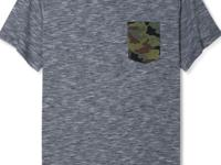 Sneak in a shot of camo with this new Univibe t-shirt,