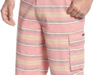 Univibe's shorts are outfitted with a bright stripe