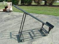 4 Wheel Carts Fasten plywood to the frame U have a cart