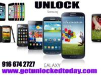 Unlock AT&T Samsung Galaxy Series Devices...S2 S4 S3