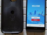 Up for sale is an absolutely like new gunmetal HTC ONE