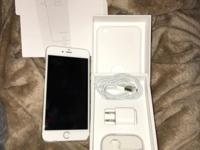 Unlocked I-Phone 6 Plus 64GB. Phone is in perfect