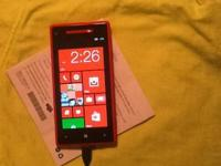 I have Red windows 8x that is unlocked to work with any