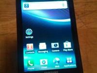 Great condition phone with case and screen protector