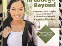 Thriving in College & Beyond Concise Version Joseph B.
