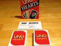 New, never ever played and the cards are manufacturing