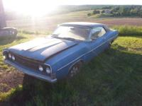 this 68 Ford Fairlane 500 has been stored in a barn for