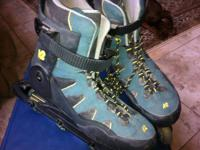 Top of the line K2 Ascent Rollerblades. These skates