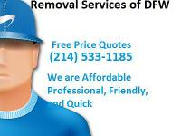 We are The Service People, Junk Removal Services of DFW
