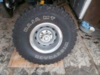 BAJA MT WIDETRACK ... 33x12.50 r15 lt. I have