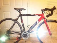 1. Red and Black GMC DENALI Road Series with shimano