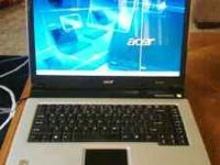 Upgraded Acer aspire 3000 laptop. Has 1 pink pixel line