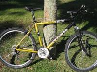 "26"" mountain bike, frame size 19"" (med). Garage kept,"