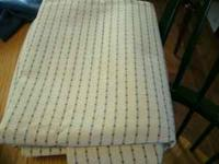 I have 4 cuts of upholstery fabric. they are a heavy