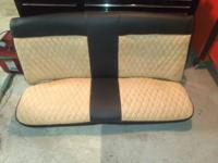 I do upholstery work on cars, trucks, vans, and SUVs.