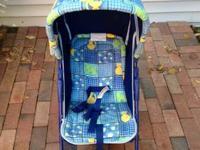 2010 Uppababy Vista Stroller Myles (Blue) Limited -
