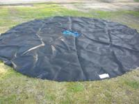 Trampoline Frame size: Made for a 15 FT. Round