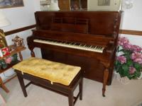 Old MirraPiano, excellent condition, with matching