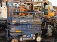 UpRight MX19 Scissor Lift Model: 65700-010 S/N: 8943