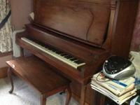 This piano has been used by our family for a few