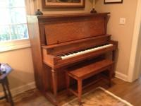 Beautiful, antique Kohler & Campbell upright piano.