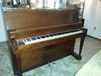 Cable upright piano. Very good condition, no broken or
