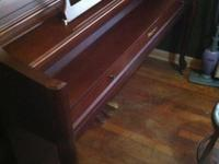 I have a beautiful upright Bergmann piano, It is in