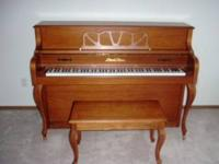 Pearl River Piano for sale 1100 or make offer piano and