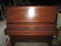 The piano is in very good shape for its age and has a