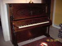 Piano technician owned. This is a 1917 P.A. Starck