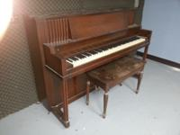Good condition, original keys. Solid wood, could use