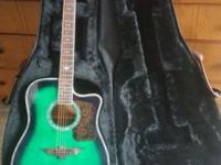 I'm selling a brand new urban guitar. With amp , strap,