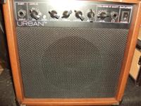 Kieth Urban's line of mini-guitar amps.  Perfect