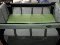 I'm selling great travel cot with added bassinet. It's