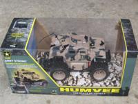 US Army HUMVEE 1:24 Scale RC Vehicle sponsored by the